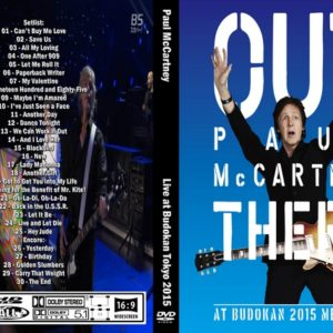 Paul McCartney 2015 Out There At Budokan,Tokyo DVD
