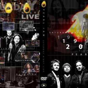 Pearl Jam Saturday Night Live, New York, NY DVD