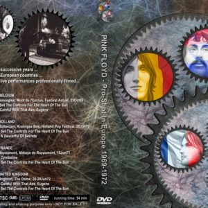 Pink Floyd 1969-1972 Pro-Shot In Europe DVD
