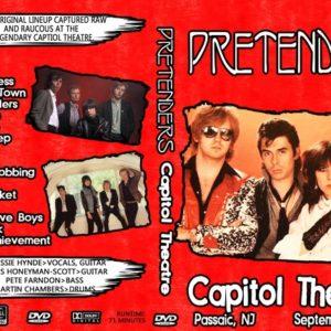Pretenders 1980-09-27 Capitol Theatre, Passaic, NJ DVD