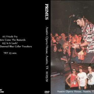 Primus 1991-12-05 Austin Opera House, Austin, TX DVD