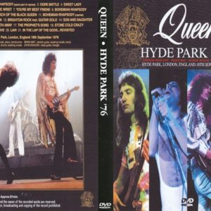 Queen 1976-09-18 Hyde Park, London, UK DVD