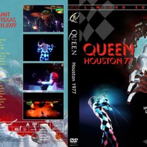 Queen 1977-12-11 The Summit, Houston, TX DVD