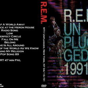 R.E.M. 1991-04-10 MTV Unplugged, New York, NY DVD