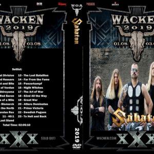 Sabaton 2019-08-01 Wacken, Germany DVD