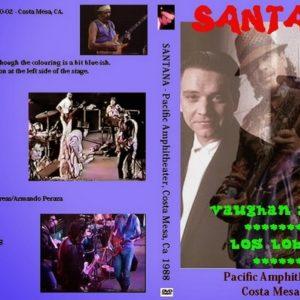 Santana with SRV 1988-10-02 Costa Mesa, CA DVD