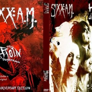 Sixx AM The Herioin Diaries Bonus DVD