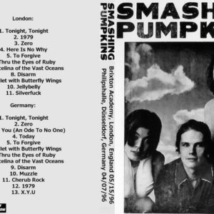 Smashing Pumpkins 1996-05-15 Brixton Academy, London, England + 1996-04-07 Philipshalle, Dusseldorf, Germany DVD