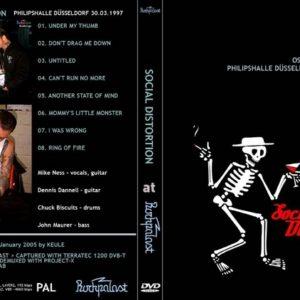 Social Distortion 1997-03-30 Philipshalle, Dusseldorf, Germany DVD