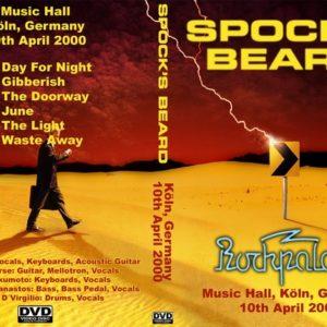 Spock's Beard 2000-04-10 Music Hall, Koln, Germany DVD