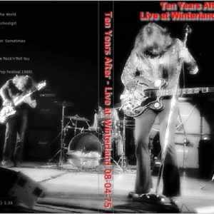 Ten Years After 1975-08-04 Winterland, San Francisco, CA DVD
