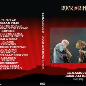 Tenacious D 2019-06-09 Rock Am Ring DVD