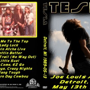 Tesla 1989-05-13 Joe Louis Arena Detroit, MI DVD