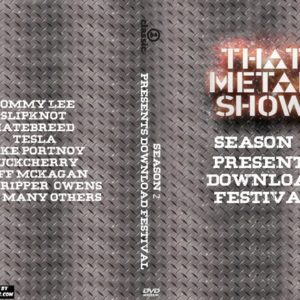 That Metal Show Presents Download Festival Season 2 Episode 9 DVD
