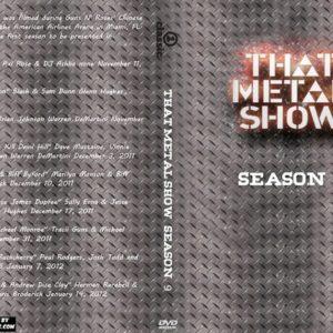 That Metal Show Season 09 5 DVD