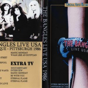 The Bangles 1986-10-29 Syria Mosque, Pittsburgh, PA DVD