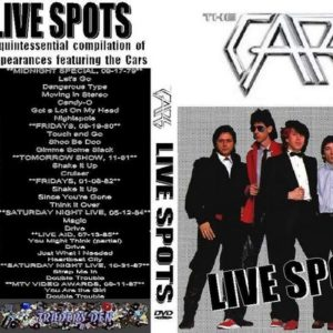 The Cars Live Spots DVD