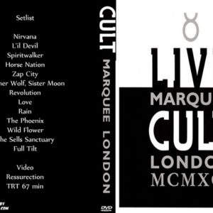 The Cult 1991-11-27 The Marquee Club, London, UK DVD