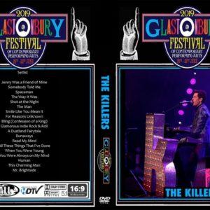The Killers 2019-06-29 Glastonbury Festival, Pilton, UK DVD