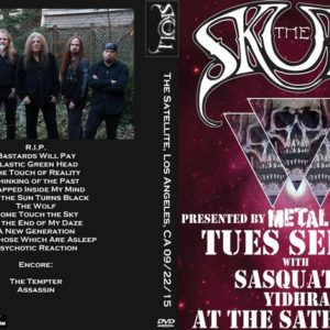 The Skull 2015-09-22 The Satellite, Los Angeles, CA DVD
