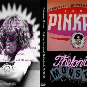 Thelonious Monster 1993-05-31 Pinkpop, Landgraaf, Netherlands DVD