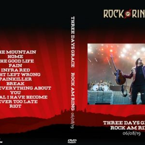 Three Days Grace 2019-06-08 Rock Am Ring DVD