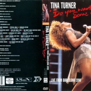 Tina Turner 1990-10-06 Barcelona, Spain 2 DVD