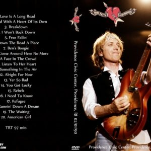 Tom Petty and The Heartbreakers 1990-02-01 Providence Civic Center, Providence, RI DVD