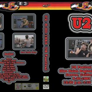 U2 1983-05-30 US Festival, Devore, CA DVD