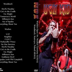 Ugly Kid Joe 2013-08-01 Woodstock, Kostrzyn, Poland + 2013-08-02 Wacken Open Air, Wacken Germany DVD