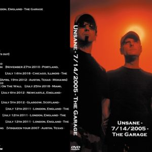 Unsane 2005-07-14 The Garage, London, England DVD