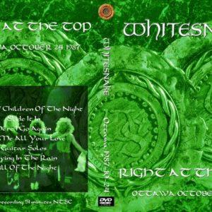Whitesnake 1987-10-24 Ottawa, Canada DVD