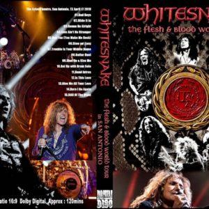 Whitesnake 2019-04-17 San Antonio, TX DVD