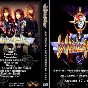 Winger 1990-08-17 Mississippi Coliseum, Jackson, MS DVD