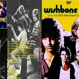 Wishbone Ash 1976-02-04 Winterland, San Francisco, CA DVD