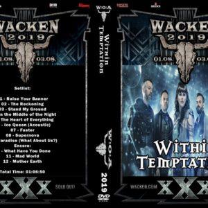 Within Temptation 2019-08-02 Wacken, Germany DVD