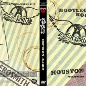 Aerosmith 1977-06-25 2nd Night, The Summit, Houston, TX DVD