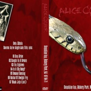 Alice Cooper 1971-07-04 Sunshine Inn, Asbury Park, NJ DVD
