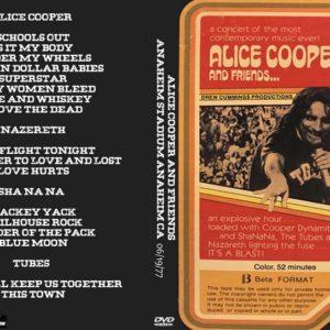 Alice Cooper 1977-06-19 Anaheim Stadium, Anaheim, CA DVD