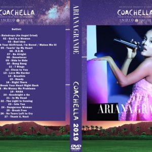 Ariana Grande 2019-04-14 Sweetener World Tour, Coachella, Indio, CA DVD