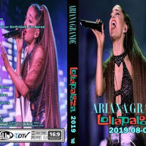 Ariana Grande 2019-08-04 Lollapalooza, Chicago, IL DVD