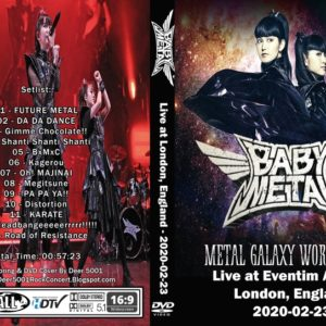BABYMETAL 2020-02-23 Eventim Apollo, London, England DVD