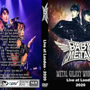 BABYMETAL 2020 London, UK DVD