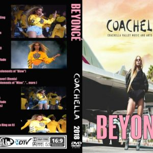 Beyonce 2018-04-14 Coachella, Indio, CA DVD