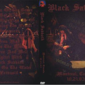 Black Sabbath 1983-10-21 Montreal, Canada DVD
