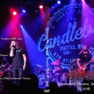 Candlebox 2018-07-21 Paramount Theatre, Seattle, WA DVD