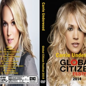 Carrie Underwood 2014 Global Citizen Festival DVD