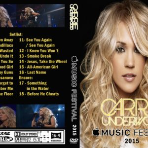 Carrie Underwood 2015 Apple Music Festival, London, UK DVD