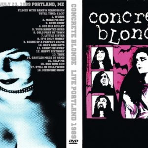 Concrete Blonde 1989-07-23 The Tree Cafe, Portland, ME DVD