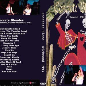 Concrete Blonde 1993-10-28 Richmond, VA DVD